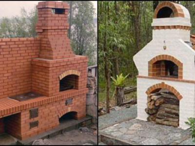 Уличная печь для дачи своими руками - Огород, сад, балкон