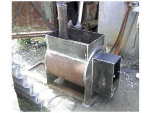 Печь для бани на дровах своими руками из металла чертежи и фото 774
