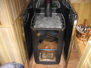 Самодельная печка для бани