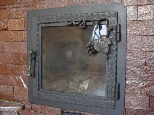 стеклянные дверцы для каминов