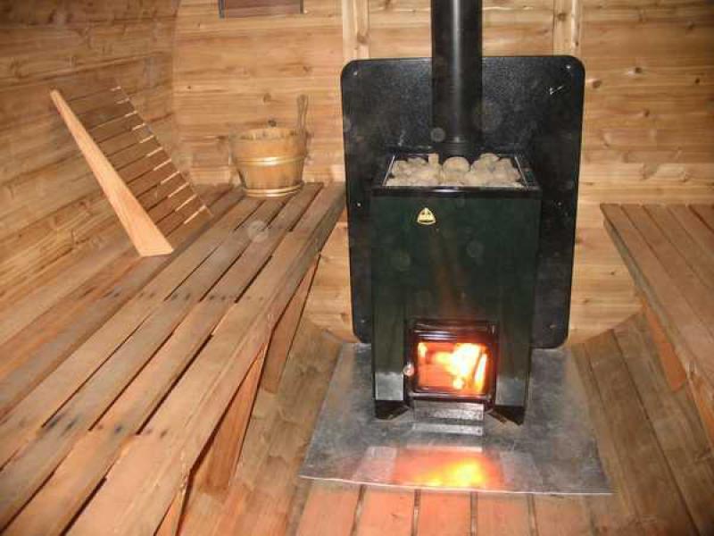Печки для бани на дровах