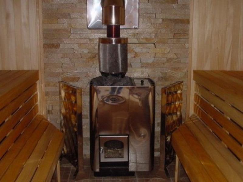 Печка на дровах своими руками в баню