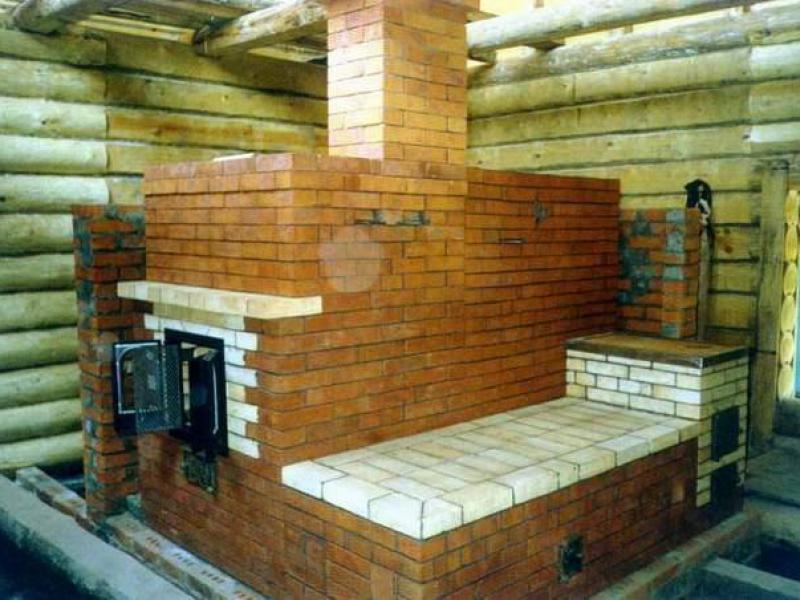 Баня дом печь своими руками