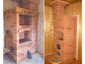 Строительство печей из кирпича