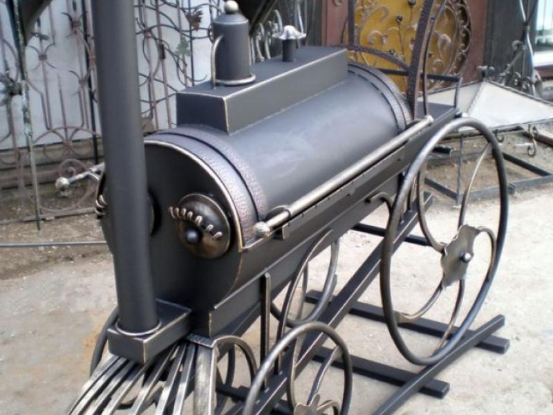 Самодельные мангалы на колесах