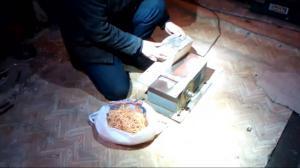 Описание способа заготовки древесного материала для копчения