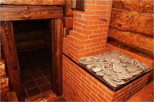 Печи банные своими руками из металла с баком 156