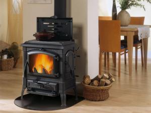 Отопление дачи печью-камином