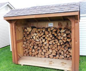 Советы для изготовления простейшего хранилища для дров