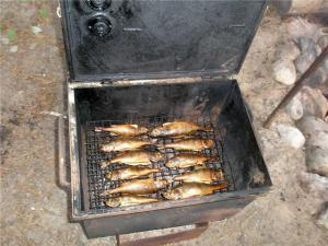 коптилка для рыбы