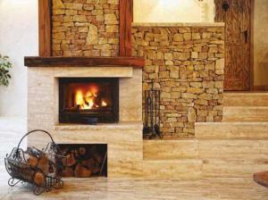дровяные камины для дома