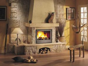 Дизайн дровяного камина