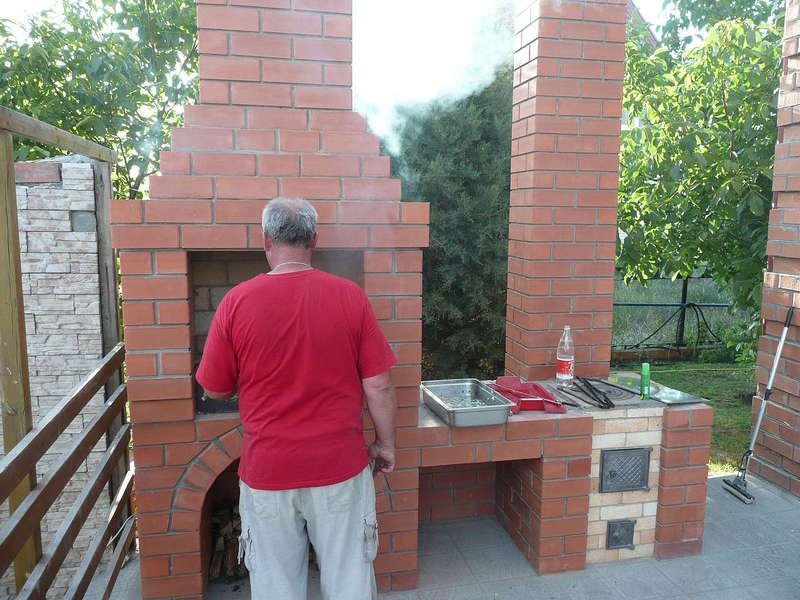 Строительство уличных печей своими руками