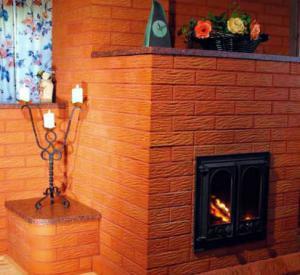 Кирпичная печь камин