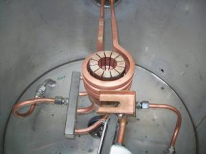 Печь индукционная тигельная
