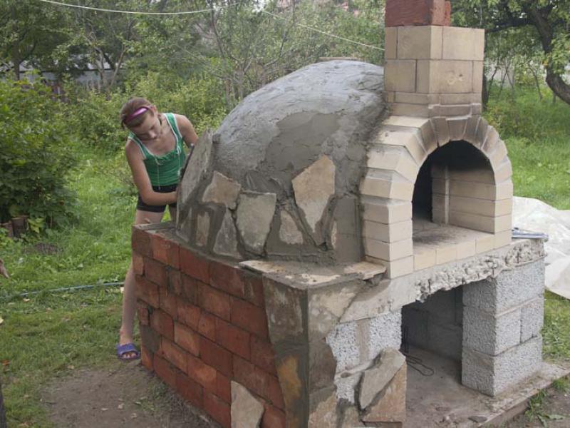 Помпейские печи из глины своими руками 988