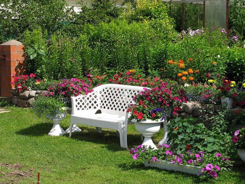 Фото Дизайн места для отдыха в саду