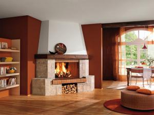 Камин - элемент интерьера, способный создать в доме желанную атмосферу уюта и тепла