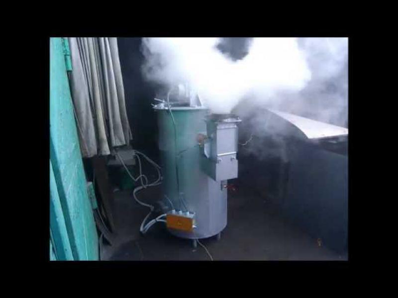Электрический дымогенератор своими руками