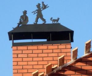 Дефлектор на крышу дымохода