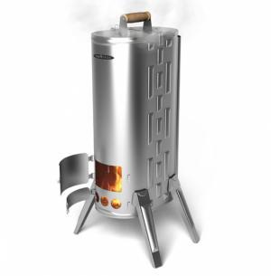 Описание качеств печи из нержавейки для отопления дачи