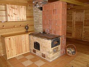 Описание преимуществ кирпичных печей для дома