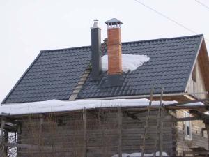 Как укрепить дымоход из кирпича