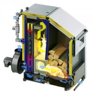 Описание конструкции печи с автоматической загрузкой дров