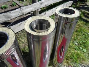 Описание видов труб из нержавеющей стали для дымоходов