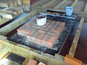 Инструкция для изготовления фундамента под голландскую печь